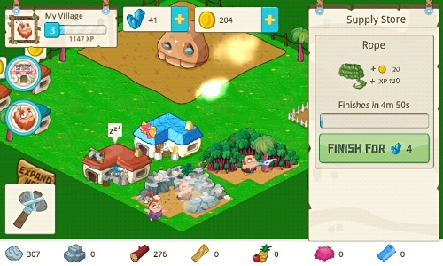 Tiny Village Android Game v By TinyCo