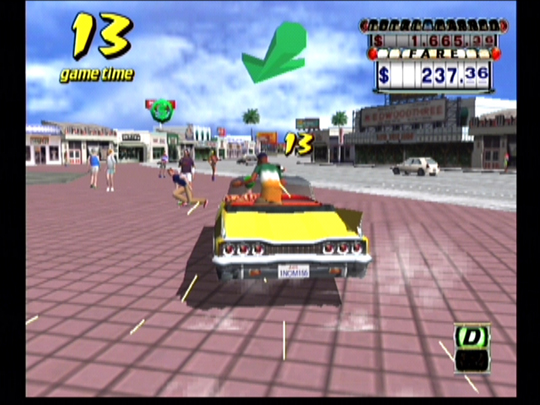 play crazy taxi m 12